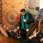 نوحه خوانی سید مهدی میرداماد شب هشتم محرم ۹۵