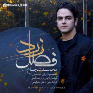دانلود آهنگ جدید محمد شجاع فصل زرد