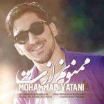 دانلود آهنگ جدید محمد وطنی به نام ممنونم ازت