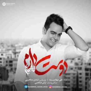 دانلود آهنگ جدید محمد شجاع دوست دارم