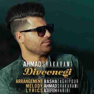 دانلود آهنگ جدید احمد شاکرمی دیوونگی