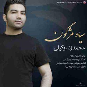 دانلود آهنگ جدید محمد زند وکیلی سیاه مژگون