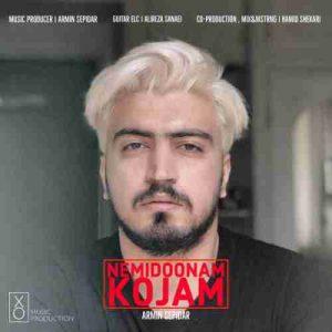 دانلود آهنگ جدید آرمین سپیدار نمیدونم کجام