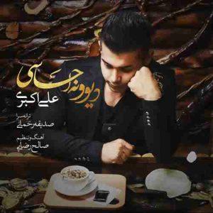 دانلود آهنگ جدید علی اکبری دیوونه احساسی