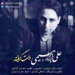 دانلود آهنگ جدید علی ابراهیمی به نام دلت گرفته