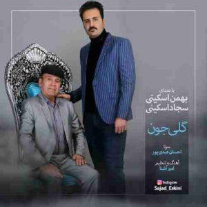 دانلود آهنگ جدید سجاد اسکینی و بهمن اسکینی گلی جون