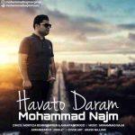 دانلود آهنگ جدیدمحمد نجم به نام هواتو دارم